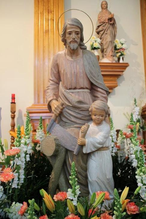 El domingo se celebra la festividad de San José