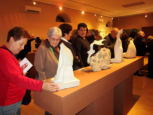 El Padre Salas regresa a Villacañas con una gran exposición de esculturas para tocar