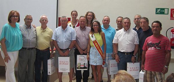 Entrega de trofeos de los Torneos de Feria del Centro de Día