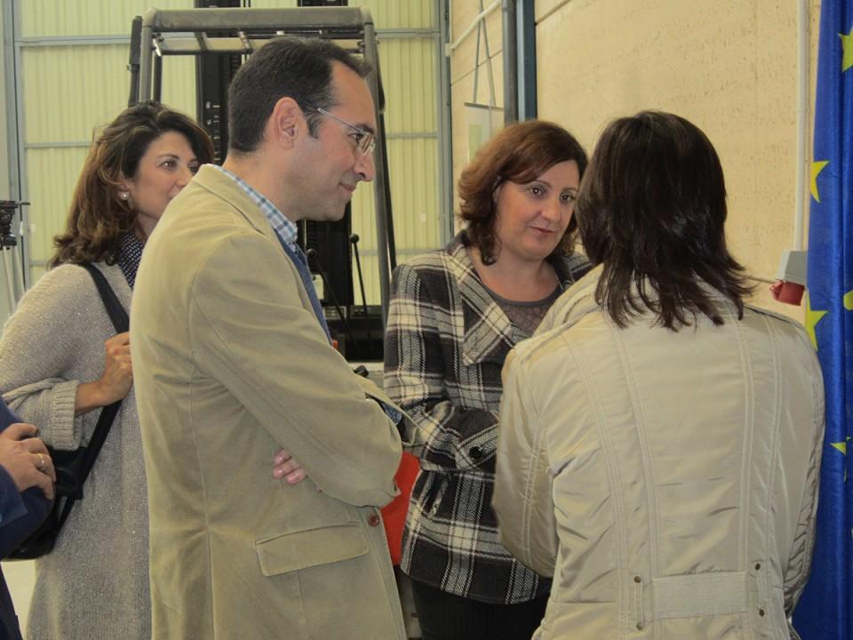 La consejera de Economía, Empresas y Empleo confirma que Villacañas será Zona Prioritaria en la ley de Estímulo Económico que prepara el Gobierno Regional