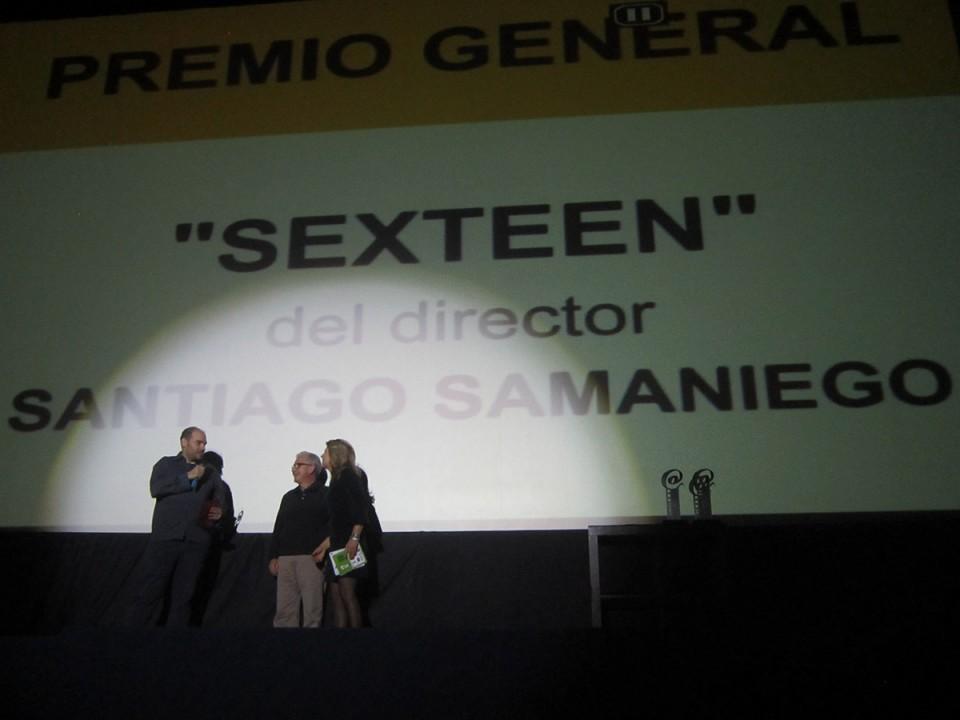 """""""Sexteen"""" de Santiago Samaniego, ganador de Fescora 2016. Dani Gª Argudo, premio local con """"Lucha"""""""