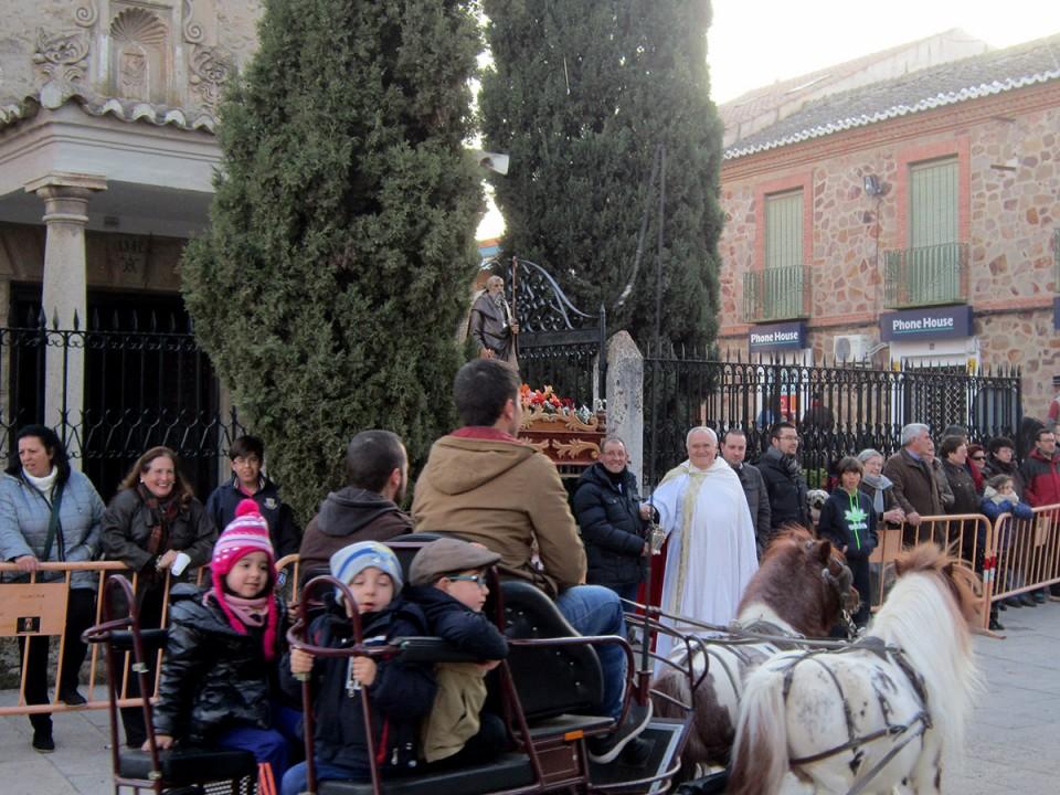 Villacañas ha festejado el fin de semana a San Antón y San Sebastián