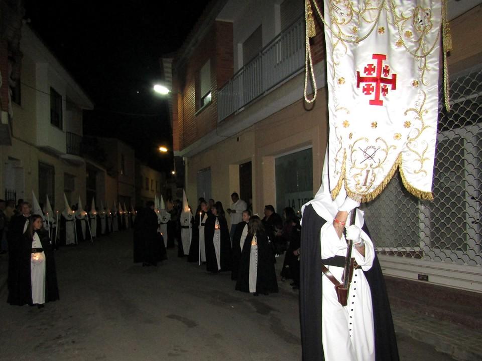 Villacañas ha vivido en las calles las grandes procesiones de Jueves y Viernes Santo