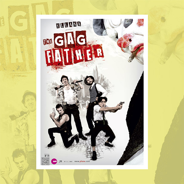 """""""The Gagfather"""", el último montaje de Yllana, llega este viernes al Festival de Teatro de Villacañas"""