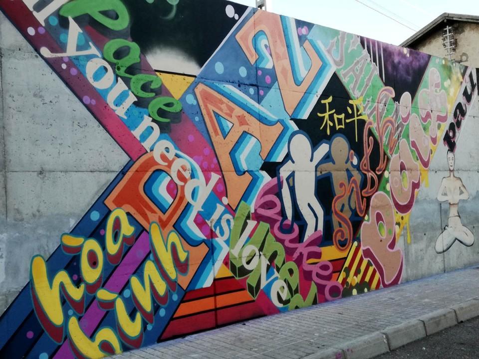 Un Muro De La Paz Para Celebrar El Día Internacional De La Tolerancia Ayuntamiento De Villacañas