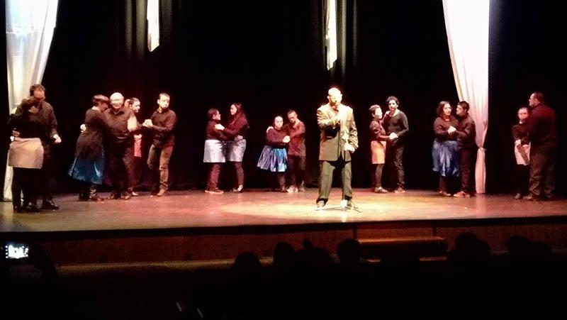 Éxito rotundo de la actuación del grupo de teatro del Centro Ocupacional de Villacañas