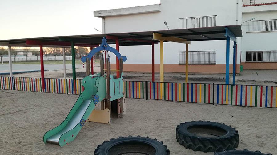Acciones de mejora en los dos edificios del colegio Santa Bárbara