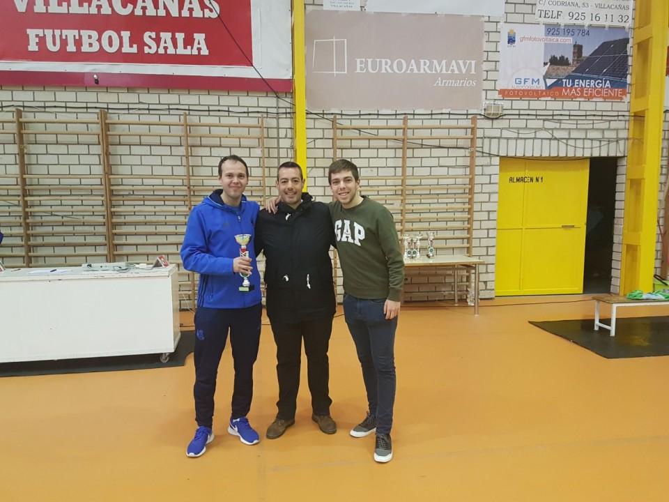 Instalaciones Camacho gana la Liga Local de Fútbol Sala