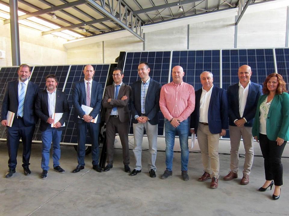 La empresa villacañera GFM presenta Suninbox, una innovadora solución tecnológica para la generación de energía