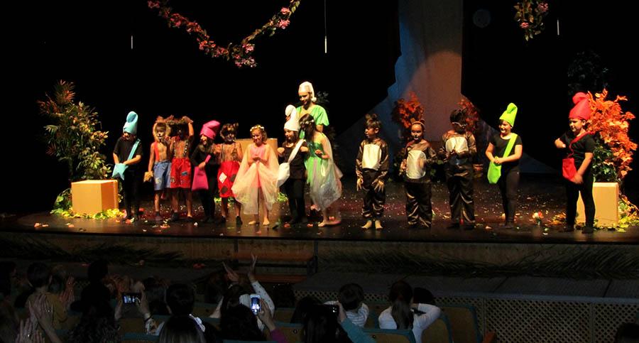 La cantera de la Escuela Municipal de Teatro, en plena forma