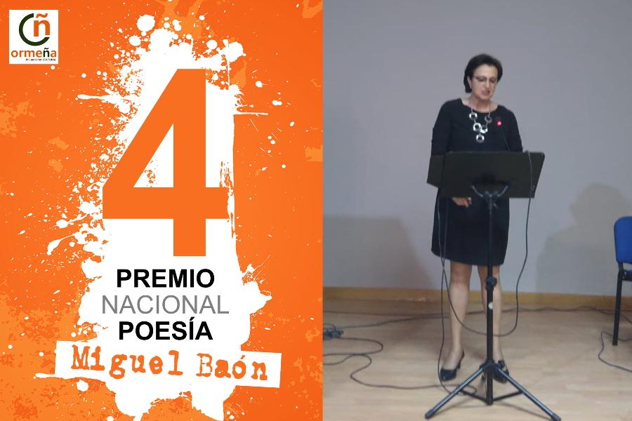 Cristina Carrasco y Miguel Ángel Córdoba, ganadores general y local del Premio