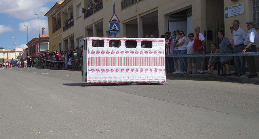 Gran éxito de la primera Carrera de Autos Locos de San Cristóbal