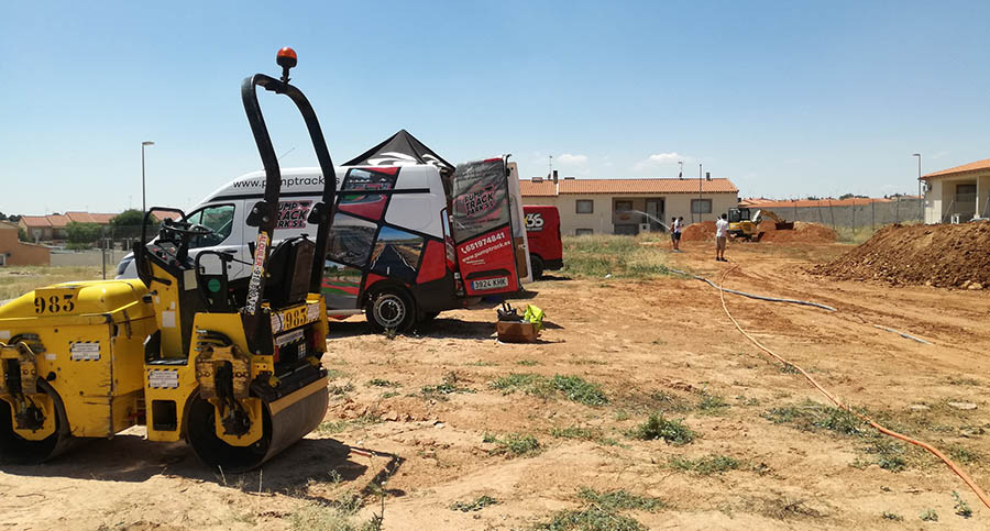 En marcha los trabajos de construcción del nuevo circuito de Pump Track