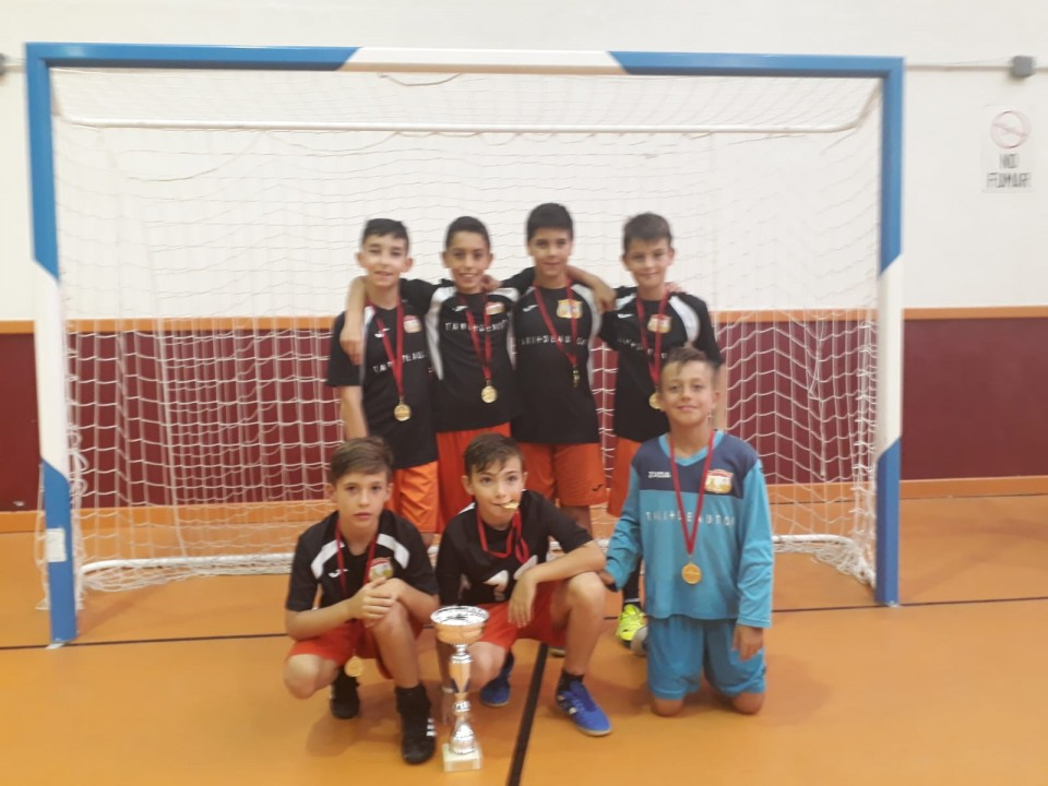 Más de 40 equipos participaron en el X Torneo 3x3+Portero de Fútbol Sala