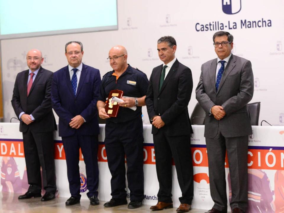 Protección Civil de Villacañas recibe el reconocimiento del Gobierno de Castilla-La Mancha