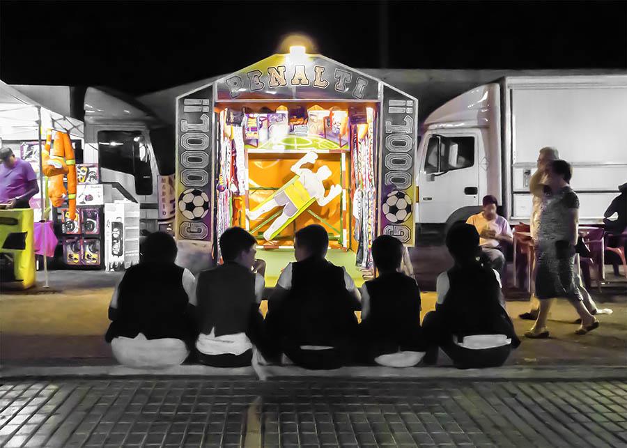 """""""Churros y porras"""", fotografía ganadora del I Concurso de Fotografía Digital """"Mi Feria 2018"""""""