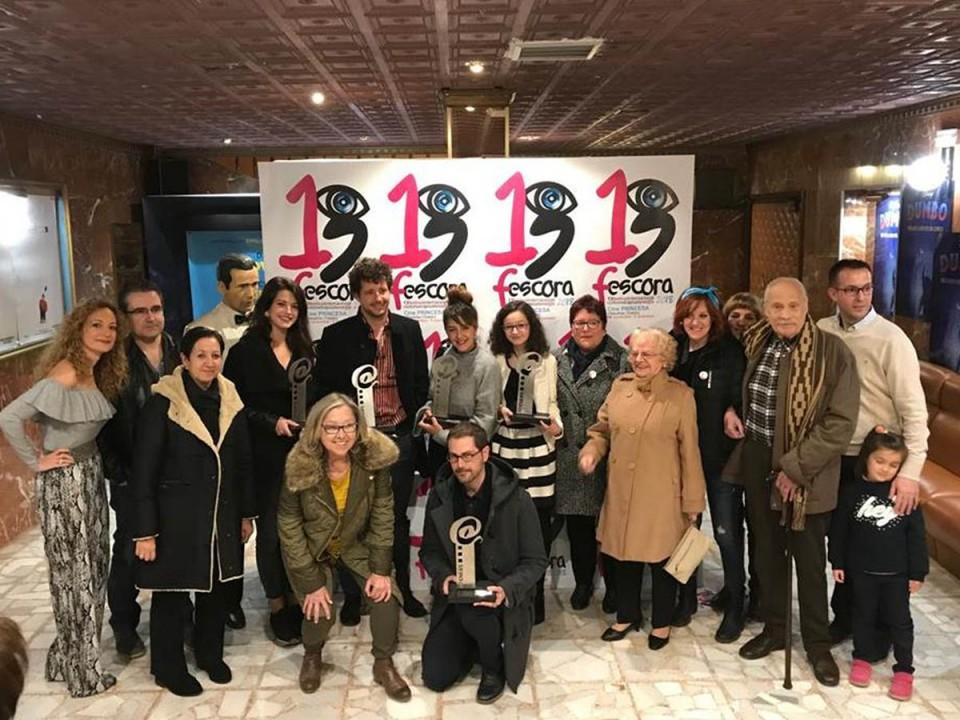 """""""El beso"""" gana el premio General de Fescora 2018 y """"Las Jaras"""" el premio Local"""