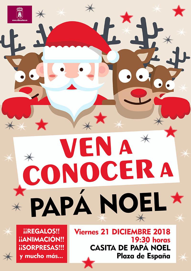 Papá Noel y la música, protagonistas del fin de semana previo a Nochebuena y Navidad