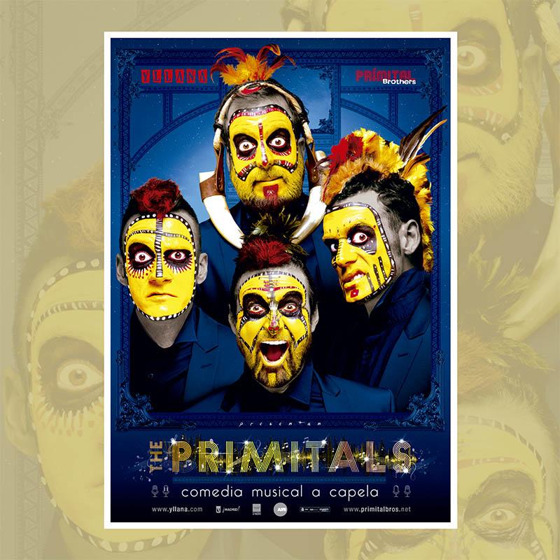 """""""The Primitals"""" de Yllana cierra mañana el Festival de Teatro"""