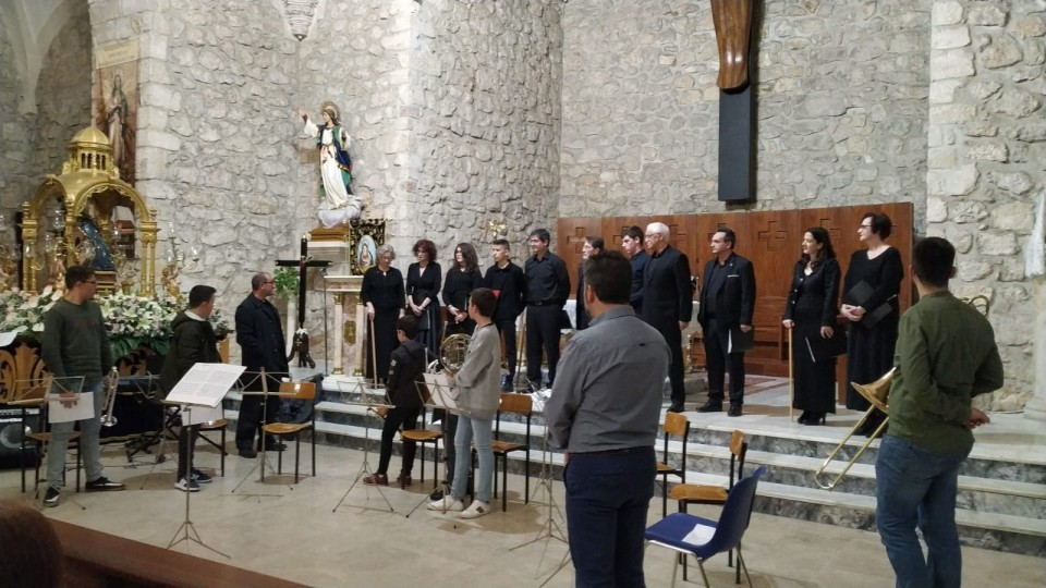 "Gran fin de semana de música sacra gracias a la Escuela Municipal de Música ""Gratiniano Martínez"""