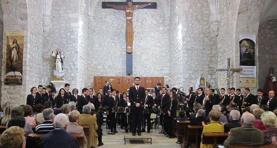 Magnífico concierto de música sacra a cargo de la Banda de Música