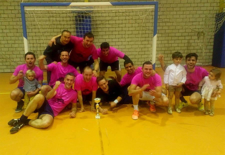 Puertas Sesmero gana la Liga Local de Fútbol Sala