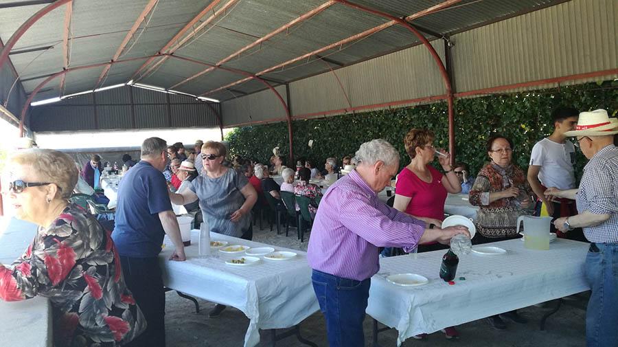 Buen ambiente y mucho calor en la celebración de San Gregorio 2019