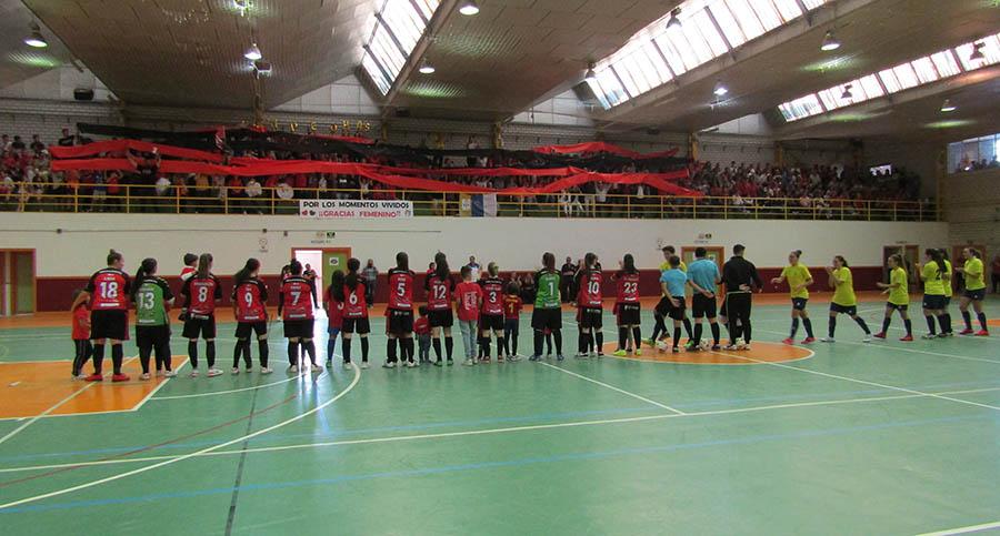 Partido histórico para el Villacañas Fútbol Sala Femenino, que ganó 3-0 la ida del Play Off de ascenso a 2ª División