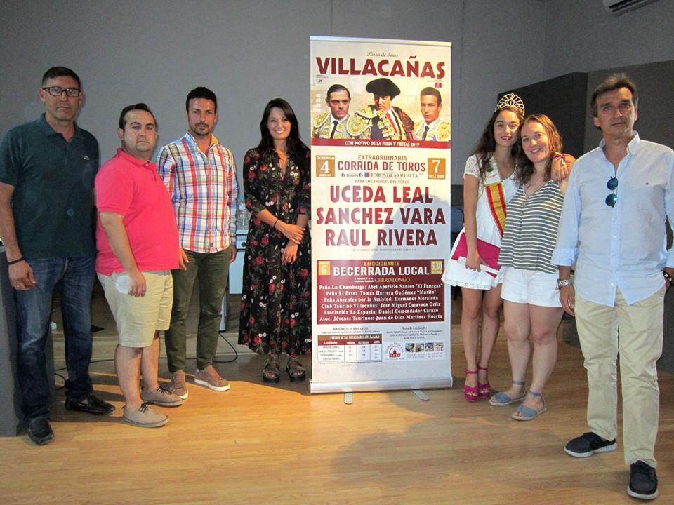 Veteranía y juventud en el cartel taurino de la Feria de Villacañas