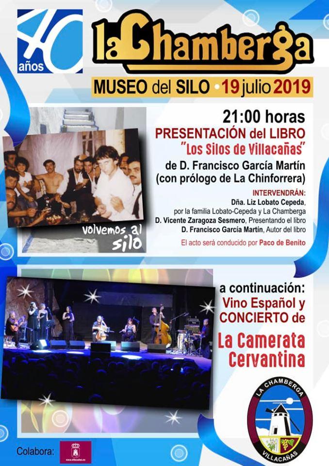 """Presentación del libro """"Silos de Villacañas"""" y concierto de Corales en un fin de semana muy cultural"""