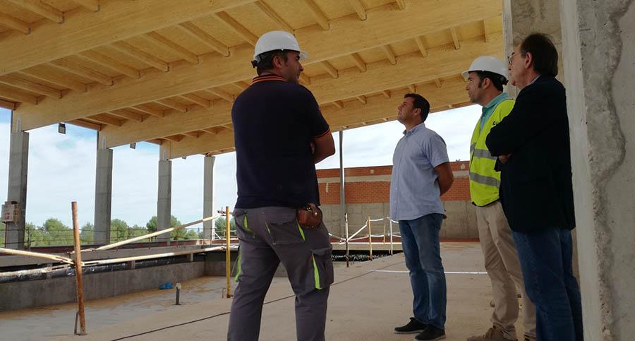 Las obras de finalización de la Piscina Climatizada avanzan según los plazos previstos