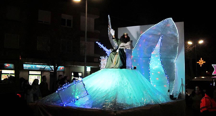 Una gran cabalgata para poner el broche de oro a unas participativas fiestas navideñas en Villacañas
