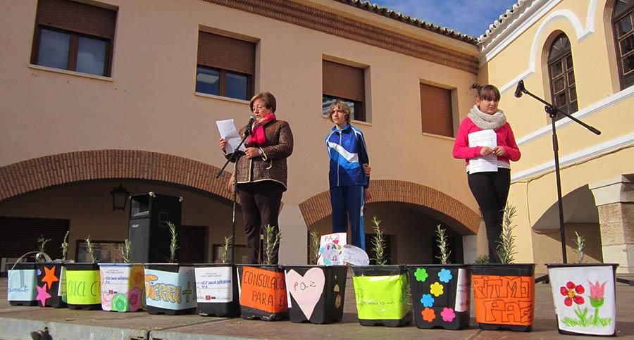 Música y palabras con el cambio climático como centro de la celebración del Día de la Paz