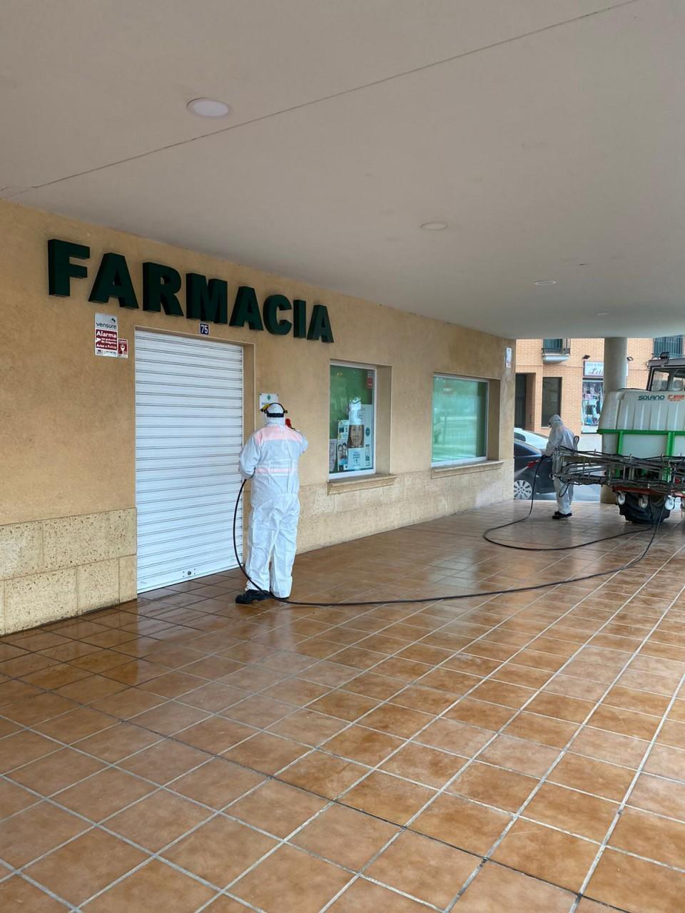 Información sobre labores de seguridad contra el COVID-19 en Villacañas
