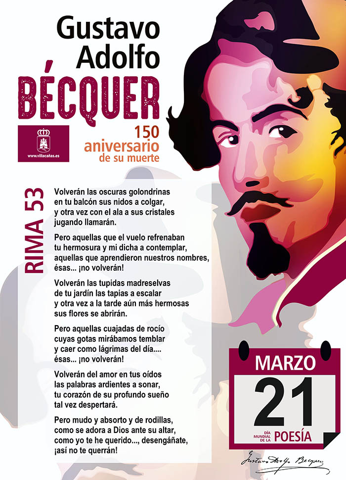 Villacañas se suma este 21 de marzo al Día Internacional de la Poesía con una actividad virtual