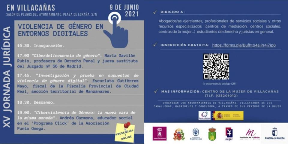 Semana de formación en igualdad y violencia de género en Villacañas
